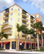 Florida apartment building