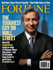 Jaime Dimon on Fortune Magazine Cover