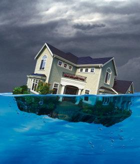 underwater homes