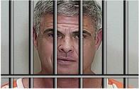 Lee Farkas in prison uniform