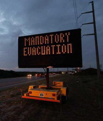 mandantory evacuation