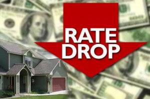 rates drop