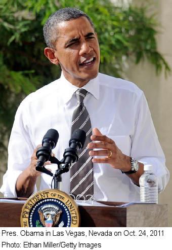 Pres. Obama in Las Vegas