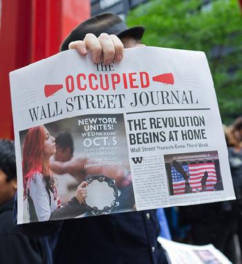 Wall Street Protestor