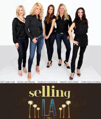 Selling LA Cast