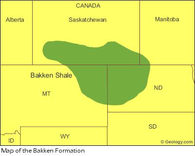 bakken oil formation