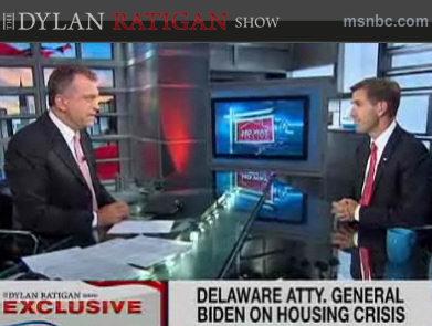 Beau Biden on Dylan Ratigan Show