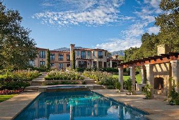 luxury home located in Montecito, CA