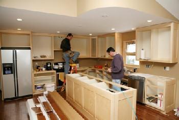 kitcher re-construction