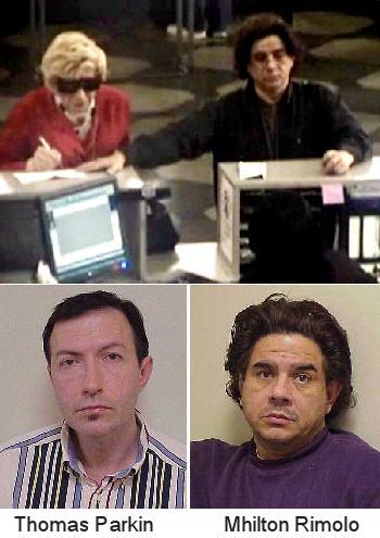 Parkin and Rimolo at the DMV