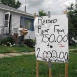 Rents Rise to Menace Market
