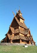 Gol Stave Church Museum - Minot