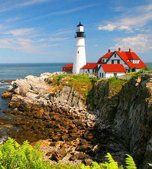 picturesque Maine